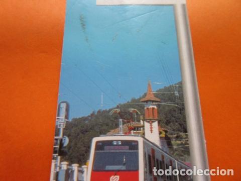 Coleccionismo Marcapáginas: PUNTO DE LIBRO FERROCARRILES GENERALITAT 2001 - Foto 3 - 128702703