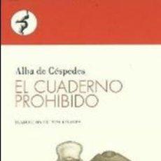 Coleccionismo Marcapáginas: MARCAPÁGINAS EDITORIAL CONTRASEÑA EL CUADERNO PERDIDO. Lote 133903665
