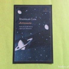 Colecionismo Marcadores de página: MARCAPAGINAS FORMATO POSTAL EDITORIAL IMPEDIMENTA ASTRONAUTAS. Lote 130046119