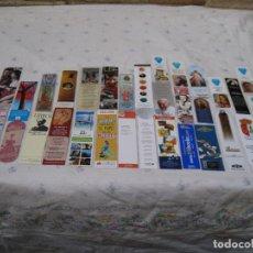 Coleccionismo Marcapáginas: LOTE DE 34 MARCAPAGINAS DIFERENTES.. Lote 131566430