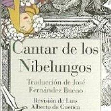 Coleccionismo Marcapáginas: MARCAPAGINAS DE REINO DE CORDELIA: CANTAR DE LOS NIBELUNGOS. Lote 133661637