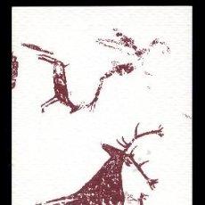 Coleccionismo Marcapáginas: MARCAPÁGINAS ARTE RUPESTRE EN MORATALLA. NUNCA VENDIDO EN TC. Lote 133535594