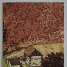 Coleccionismo Marcapáginas: MARCAPÁGINAS EDITORIAL OLAÑETA.CONSTRUIRSE LA CASA-. Lote 133588094