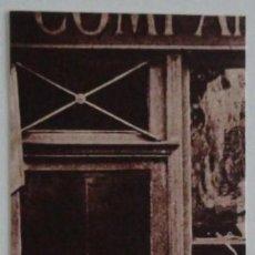 Coleccionismo Marcapáginas: MARCAPÁGINAS EDITORIAL OLAÑETA.EL AMANTE DE LAS LIBRERIAS-. Lote 133589142