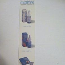 Coleccionismo Marcapáginas: MARCAPAGINAS PUBLICIDAD PRODUCTO FARMACEUTICO. Lote 135278243