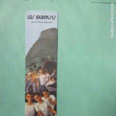 Coleccionismo Marcapáginas: MARCAPAGINAS EDITORIAL HOJA DE LATA LOS JAUANESES. Lote 195051313