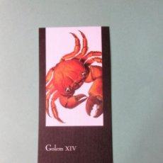 Colecionismo Marcadores de página: MARCAPAGINAS EDITORIAL IMPEDIMENTA GOLEN XIV . Lote 135867622