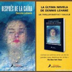 Coleccionismo Marcapáginas: MARCAPÁGINAS - POSTAL EDI. SALAMANDRA DESPUES DE LA CAIDA. Lote 136407220