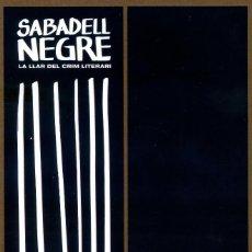 Coleccionismo Marcapáginas: MARCAPÁGINAS – EDITORIAL SALAMANDRA SABADELL NEGRE. Lote 136407248