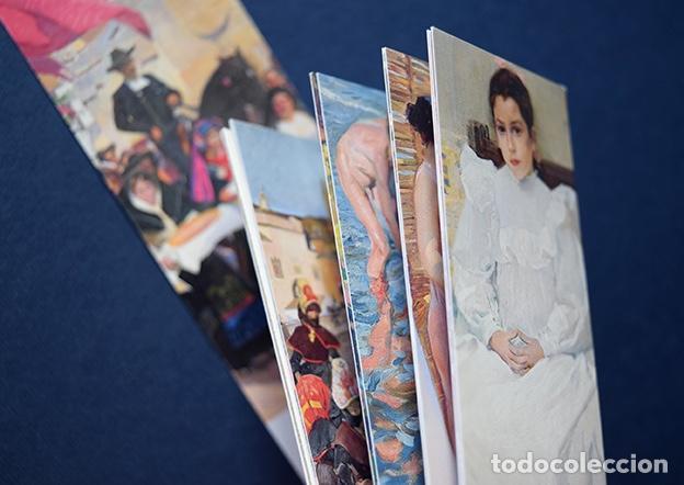 COLECCIÓN 11 MARCAPÁGINAS-CALENDARIO 2010 JOAQUÍN SOROLLA – MUSEO DEL PRADO, MADRID, 2010 (Coleccionismo - Marcapáginas)