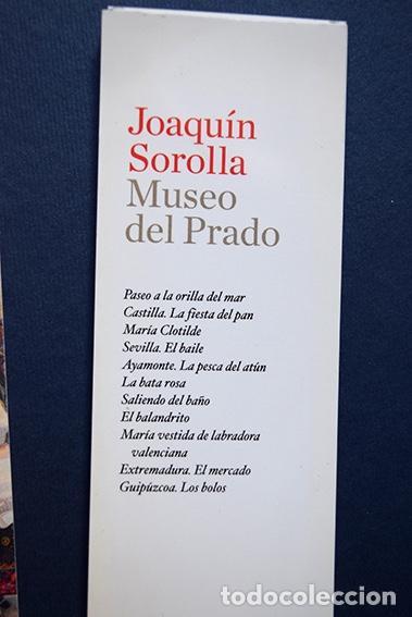 Coleccionismo Marcapáginas: Colección 11 marcapáginas-calendario 2010 Joaquín Sorolla – Museo del Prado, Madrid, 2010 - Foto 3 - 136319130
