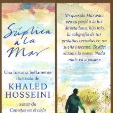 Coleccionismo Marcapáginas: MARCAPÁGINAS – EDITORIAL SALAMANDRA LA TRENZASUPLICA A LA MAR. Lote 147211053