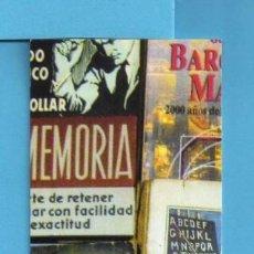 Coleccionismo Marcapáginas: MARCAPÁGINAS DE EDITOR DE LLIBRERIA CARLOS 30 ANIVERSARIO VENTA LIBROS DE SEGUNDA MANO . Lote 137194278