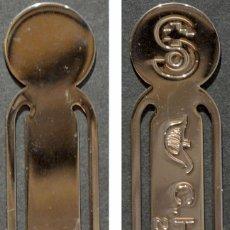 Coleccionismo Marcapáginas: MARCAPAGINAS PUNTO LIBRO METALICO HOSPITAL EL CHUA 2003 ALBACETE. Lote 137251854