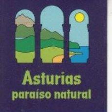 Coleccionismo Marcapáginas: MARCAPÁGINAS. ASTURIAS PARAÍSO NATURAL.. Lote 138990278
