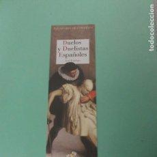 Coleccionismo Marcapáginas - Marcapginas editorial reino de cornelia duelos y duelistas españoles - 140522062