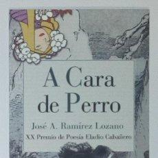 Coleccionismo Marcapáginas: MARCAPÁGINAS EDITORIAL REINO DE CORDELIA.A CARA DE PERRO-. Lote 140539342