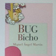 Coleccionismo Marcapáginas: MARCAPÁGINAS EDITORIAL REINO DE CORDELIA.BUG BICHO-. Lote 140540126