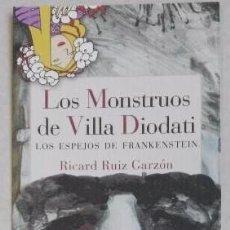 Coleccionismo Marcapáginas: MARCAPÁGINAS EDITORIAL REINO DE CORDELIA. LOS MONSTRUOS DE VILLA DIODATI-. Lote 183436145