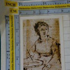 Coleccionismo Marcapáginas: MARCAPÁGINAS DE LITERATURA. CARTAS DE JANE AUSTEN. Lote 142353862