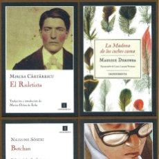 Coleccionismo Marcapáginas: 4 MARCAPÁGINAS EDITORIAL IMPEDIMENTA. Lote 142842517