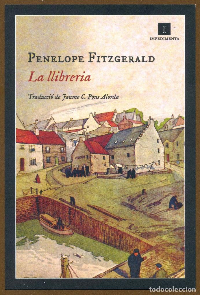 MARCAPÁGINAS EDITORIAL IMPEDIMENTA LA LLIBRERIA (Coleccionismo - Marcapáginas)