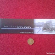 Coleccionismo Marcapáginas: MARCAPÁGINAS BOOK MARK BOOKMARK LISBOA LISBON PORTUGAL COCHE DE ÉPOCA CAR VOITURE RUA ANDRADE CORVO . Lote 143168818