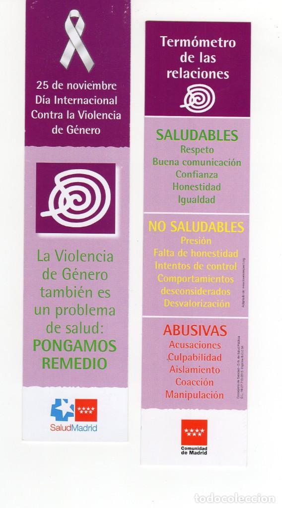 Marcapaginas Dia Mundial Contra La Violencia Vendido En Venta Directa 143280322 Descubra la gama de termómetros de girodmedical, material médico de calidad al mejor precio. dia mundial contra la violencia