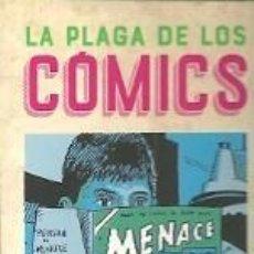 Coleccionismo Marcapáginas: MARCAPÁGINAS. ES POP EDICIONES. DAVID HAJDU. LA PLAGA DE LOS COMICS. Lote 143655380