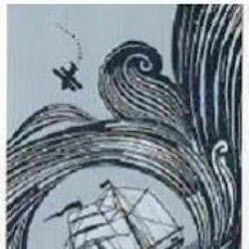 Coleccionismo Marcapáginas: MARCAPAGINAS EDITORIAL SALAMANDRA NOSOTROS LOS AHOGADOS . Lote 143645098