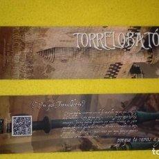 Coleccionismo Marcapáginas: TORRELOBATON. Lote 143760446