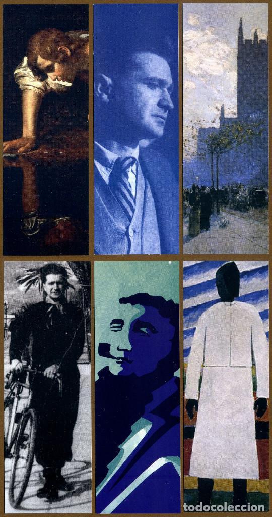 6 MARCAPÁGINAS EDITORES HERMIDA (Coleccionismo - Marcapáginas)