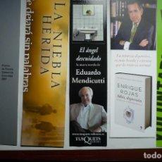 Coleccionismo Marcapáginas: LOTE MARCAPAGINAS VARIADAS. Lote 146525174