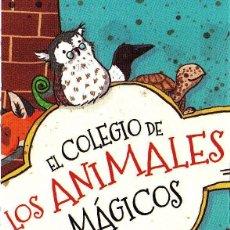 Coleccionismo Marcapáginas: MARCAPÁGINAS: EDELVIVES - EL COLEGIO DE LOS ANIMALES MÁGICOS. Lote 236790790