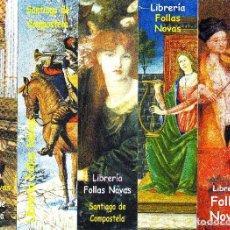 Coleccionismo Marcapáginas: 6 MARCAPÁGINAS: FOLLAS NOVAS - SERIE COMPLETA . Lote 147323192