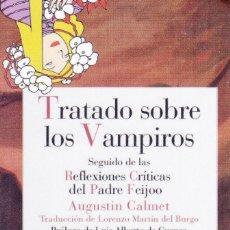 Coleccionismo Marcapáginas: MARCAPÁGINAS: TRATADO SOBRE LOS VAMPIROS - REINO DE CORDELIA. Lote 147324020