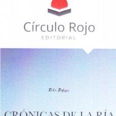 Coleccionismo Marcapáginas: MARCAPÁGINAS: CRÓNICAS DE LA RIA - CÍRCULO ROJO. Lote 147323590
