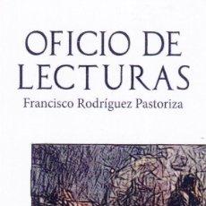Coleccionismo Marcapáginas: MARCAPÁGINAS: OFICIO DE LECTURAS - EDITORIAL TERRAIGNOTA. Lote 147324542