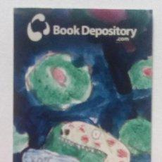 Coleccionismo Marcapáginas: MARCAPÁGINAS EDITORIAL BOOK DEPOSITORY- . Lote 147330382