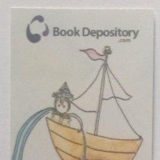 Coleccionismo Marcapáginas: MARCAPÁGINAS EDITORIAL BOOK DEPOSITORY- . Lote 147330406