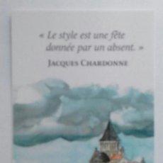 Coleccionismo Marcapáginas: MARCAPÁGINAS EDITORIAL EQUINOXE-. Lote 147332390