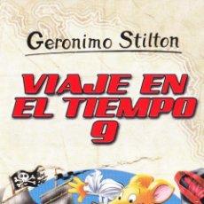 Coleccionismo Marcapáginas: MARCAPÁGINAS: VIAJE EN EL TIEMPO 9 - GERONIMO STILTON - DESTINO. Lote 147539833