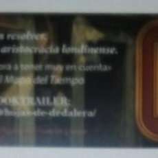Coleccionismo Marcapáginas: MARCAPÁGINAS EDITORIAL VERSATIL .HOJAS DE DEDALERA.. Lote 147531486