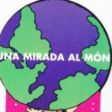 Coleccionismo Marcapáginas: MARCAPAGINAS: UNA MIRADA AL MON - LAS TRES MELLIZAS - EDITORIAL ICARIA - TROQUELADO . Lote 147825682
