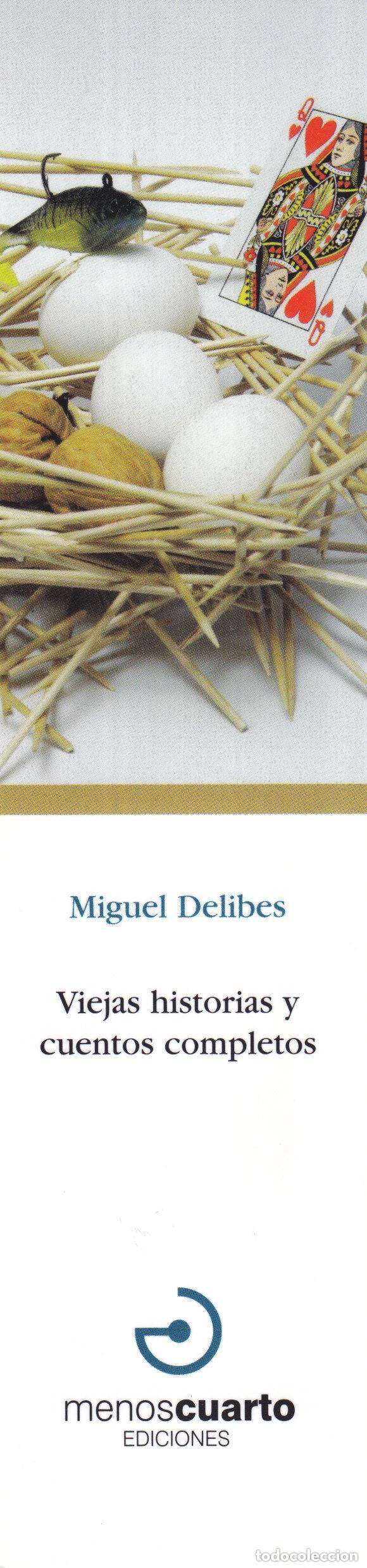 MARCAPAGINAS: VIEJAS HISTORIAS Y CUENTOS COMPLETOS - EDITORIAL MENOS CUARTO