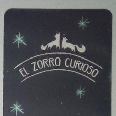 Coleccionismo Marcapáginas: MARCAPÁGINAS EDITORIAL LUMEN.EL ZORRO CURIOSO-. Lote 195339142