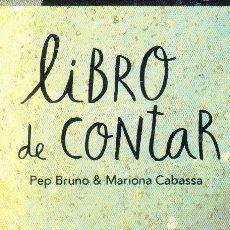 Coleccionismo Marcapáginas: MARCAPAGINAS: LIBRO DE CONTAR - EDITORIAL OQO. Lote 236568295