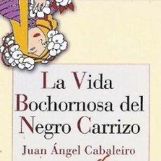 Coleccionismo Marcapáginas: MARCAPAGINAS EDITORIAL REINO DE CORNELIA LA VIVA BOCHORNOSA DEL NEGRO CARRIZO. Lote 195051360