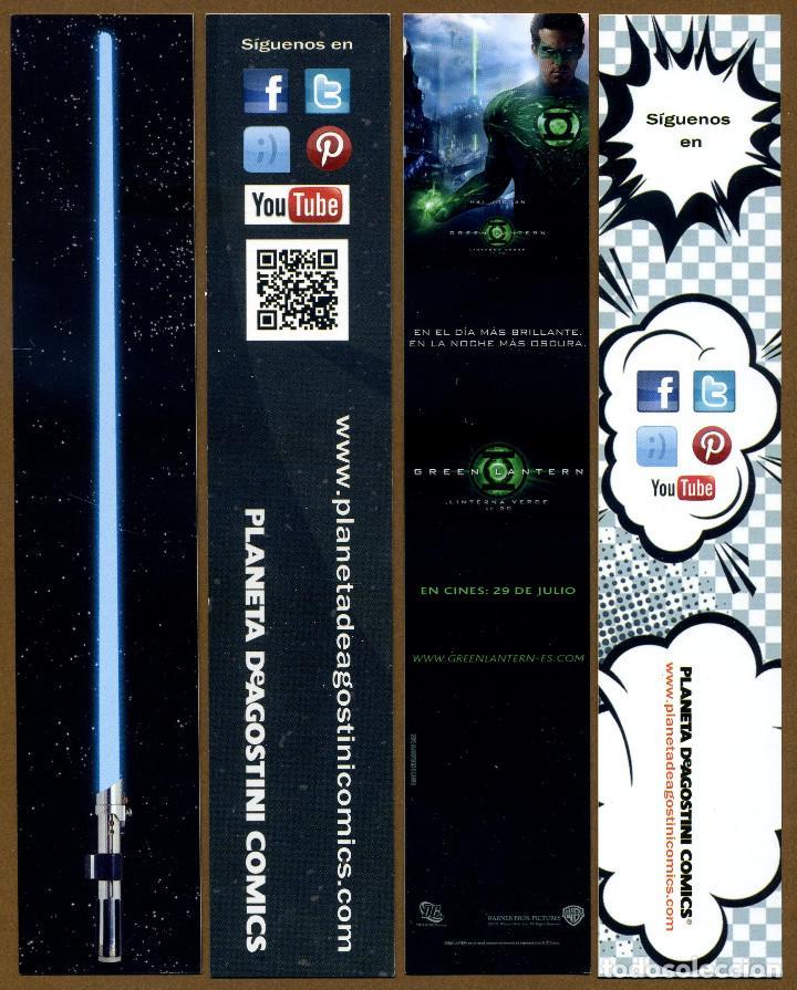 Coleccionismo Marcapáginas: 4 Marcapáginas Editorial PLANETA AGOSTINI - Foto 2 - 150655730