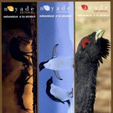 Coleccionismo Marcapáginas: 3 MARCAPÁGINAS EDITORIAL NAYADE. Lote 150656326